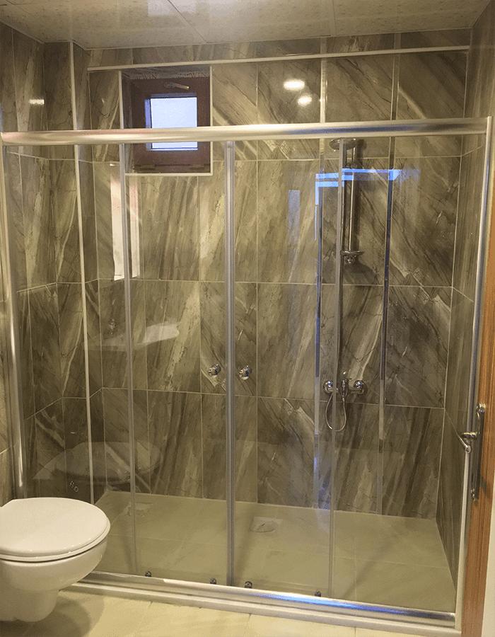 Sivas'ta İki Duvar Arası Duş Kabin Sistemleri