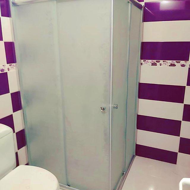 Sivas Kare Duş Kabin Sistemi Buzlu Cam