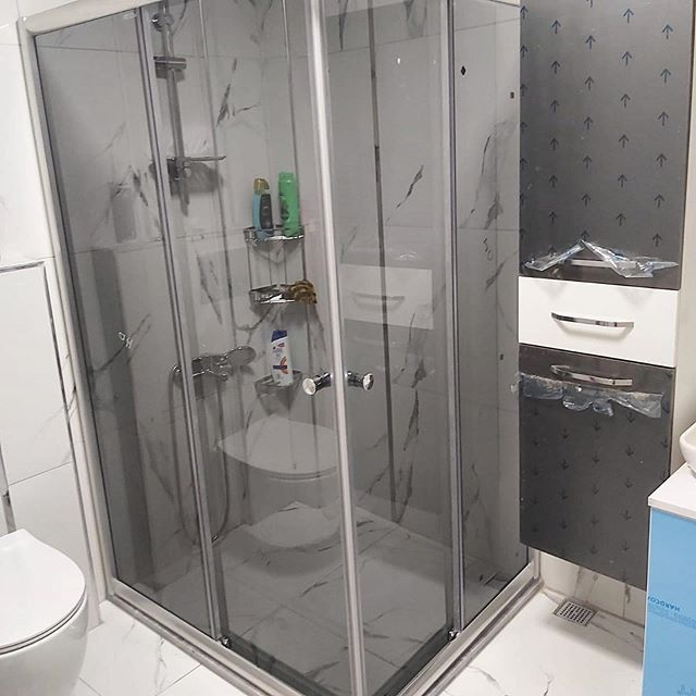 Sivas Kare Duş Kabin Sistemi Cam