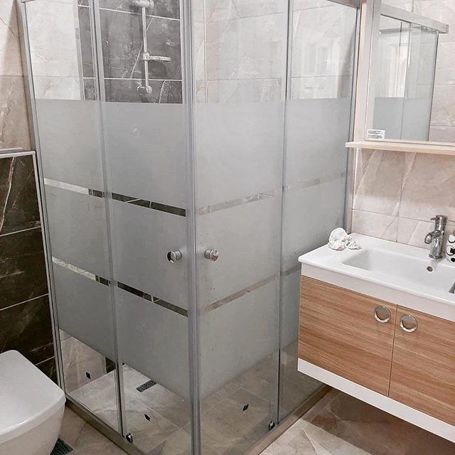 Desenli Cam Duş Kabin Sistemi Uygulaması Sivas